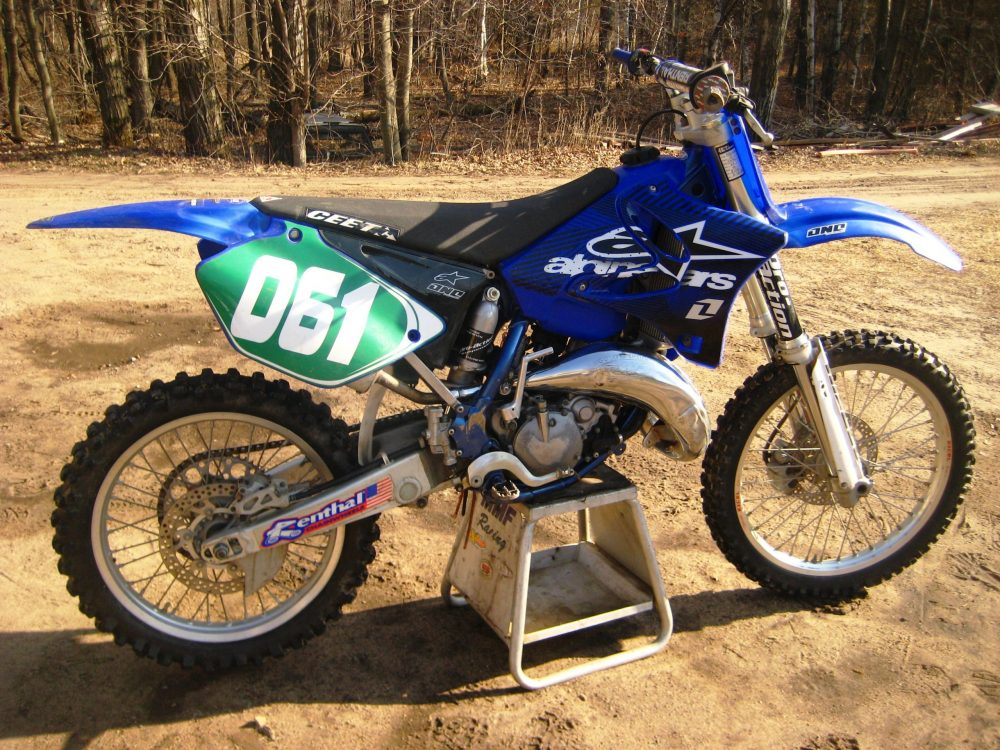 2003 Yamaha YZ125 23 scaled How To Prep Your Dirt Bike For A Motocross Race