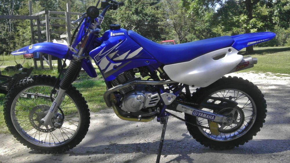 ttr125l medium sized dirt bike