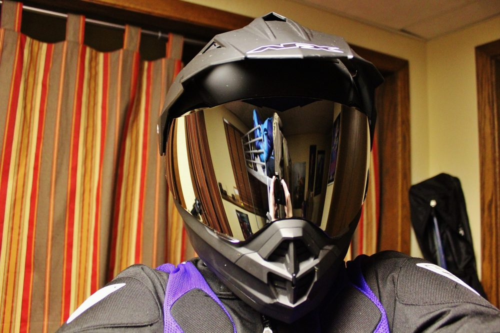 AFX FX 39DS Supermoto Helmet Smoke Shield Review scaled AFX FX-39DS Supermoto Helmet & Shield - Review