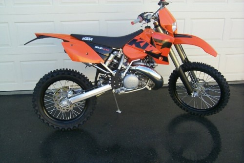 May 13 Dirt Bike of the Month KTM 300EXC Dirt Bike Won't Start Has Fuel & Spark