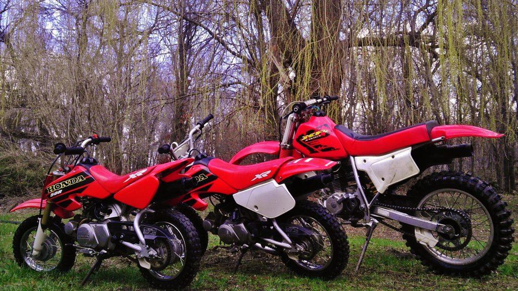 kids dirt bike sizing xr50 xr70 and xr200