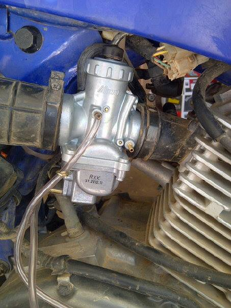 TTR125 Mikuni VM24 Carb Swap Best Bang For Your Buck 2 TTR125 Mikuni VM24 Carb Swap - Best Bang For Your Buck!