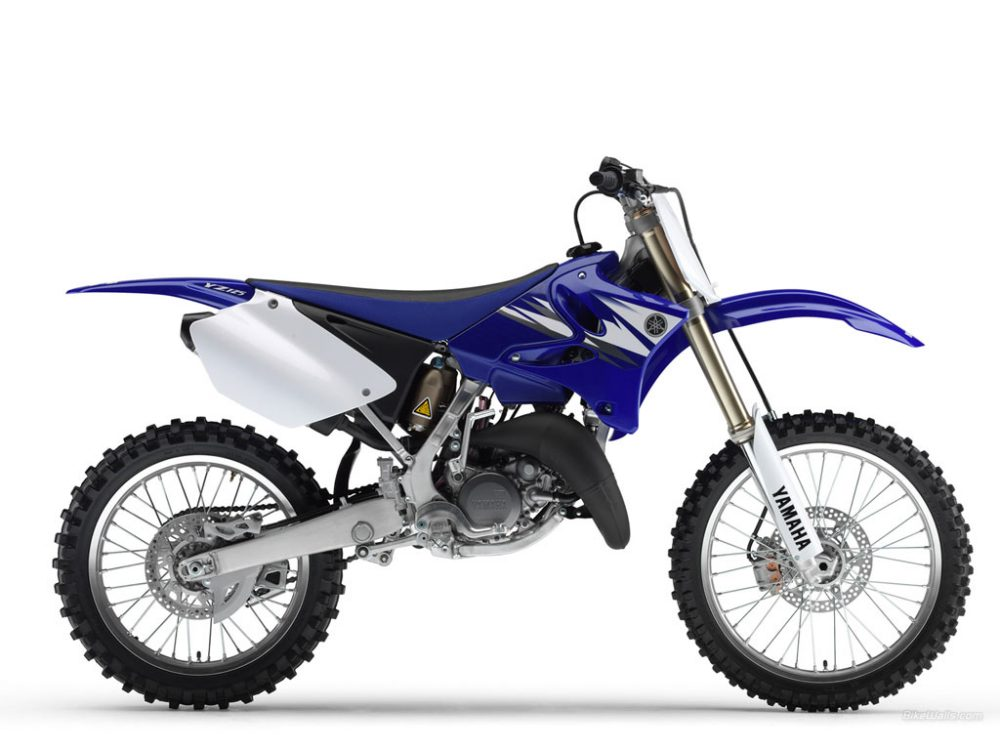 2006 Yamaha YZ125 motocross bike