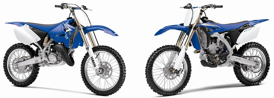 Yamaha YZ125 Vs. YZ250F YZ125 vs YZ250F: Which MX Bike Is Best For You?