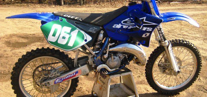 Used YZ125 motocross bike