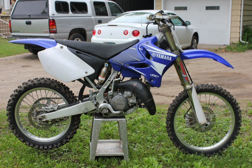 Yamaha YZ125 Motocross Bike What Are All The Types of Dirt Bikes & Names?