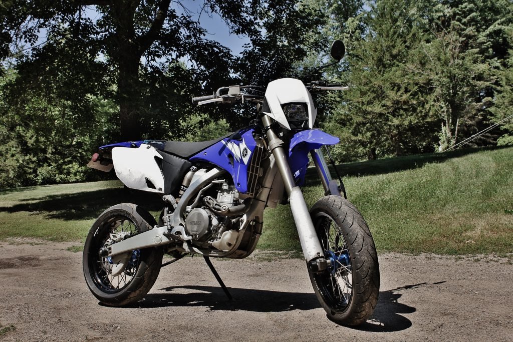 Supermoto dirt bike