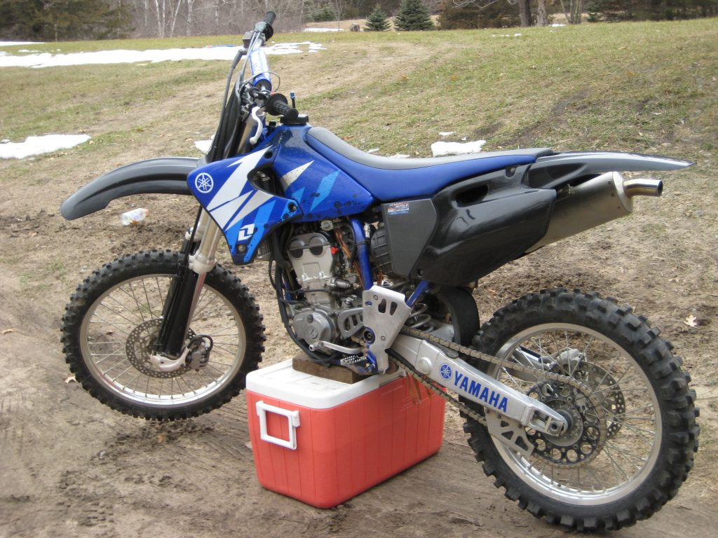 Yamaha motocross bikes are good for tall riders in general