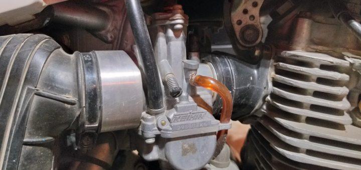 troubleshooting dirt bike carb leaking gas
