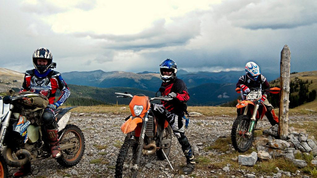 KTM 200XCW is a great 2 stroke trail bike for newer riders or tall teens