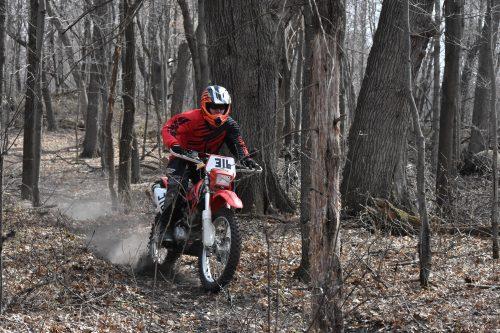 Riding 2005 Honda CRF230F Home