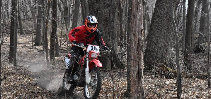 Riding 2005 Honda CRF230F Dirt Bike School Online - Training Course For Beginners