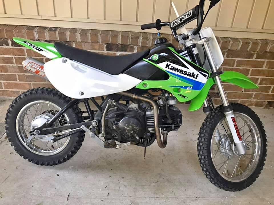 KLX110 1 What's The Best Dirt Bike For My 10 Year Old?