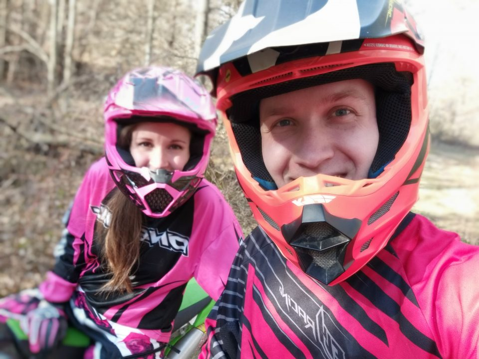 Learning how to trail ride on a KLX140L