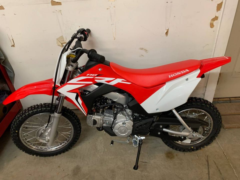 CRF110F What's The Best Dirt Bike For My 10 Year Old?