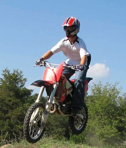 Me Jumping My CR80 The 4 Ways To Learn How To Ride A Dirt Bike
