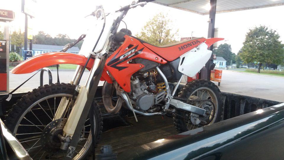 Used 2005 Honda CR85R Expert Dirt Bike