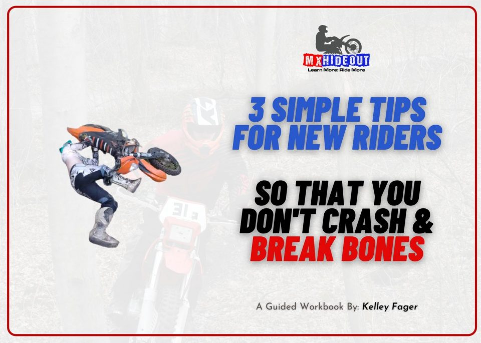 3 simple tips for new riders so that you dont crash break bones FREE LESSONS!