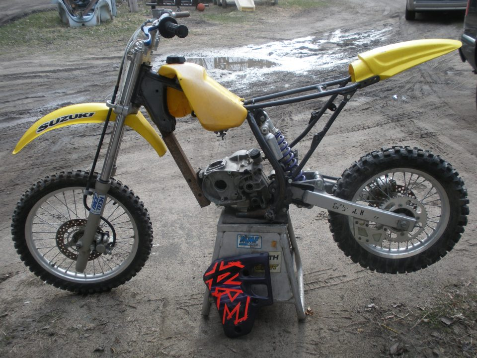 1997 RM80 1 XR100/RM80 Conversion Pit Bike Build - Is It Possible? Pt. 1
