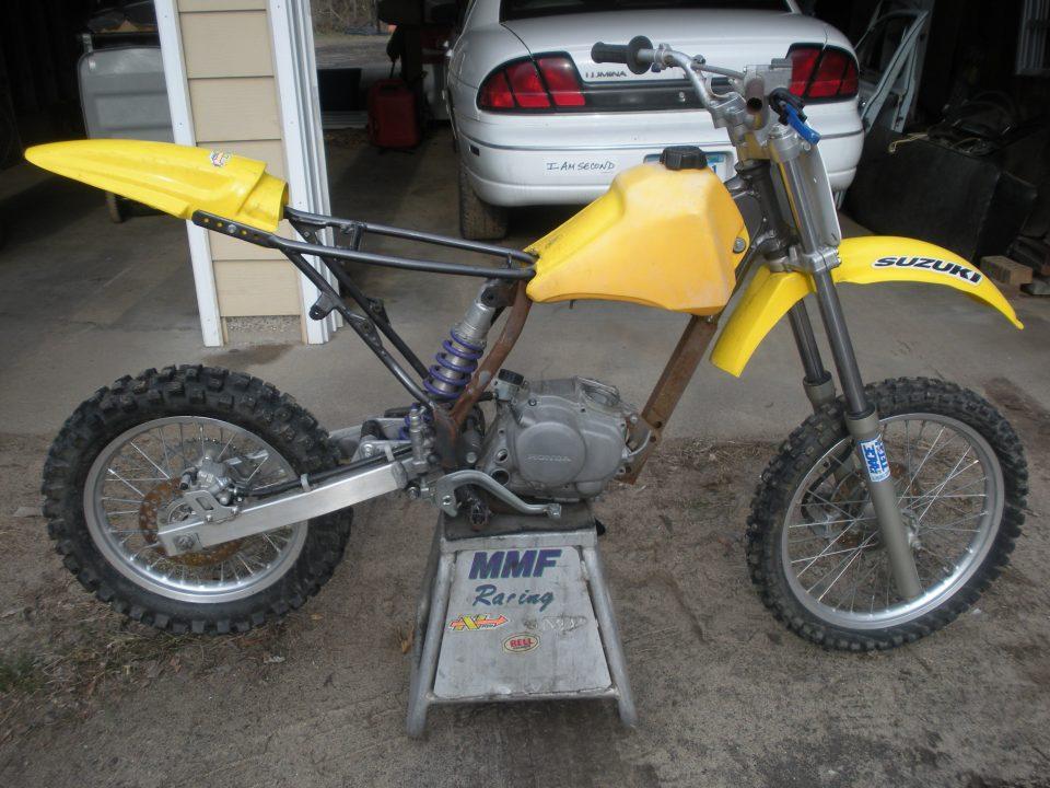 1997 RM80 3 XR100/RM80 Conversion Pit Bike Build - Is It Possible? Pt. 1