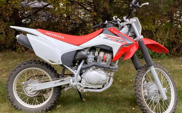 The CRF150F is slightly bigger and more powerful than the TTR125